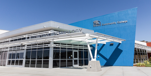 SCC's Automotive Technology building located at the Vallejo Center at Ascot and Turner Parkways