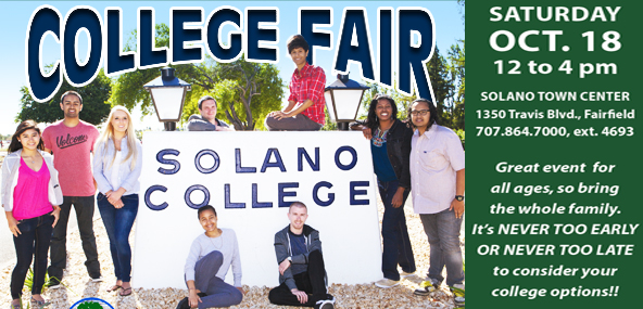 SCC College Fair, Oct 18th