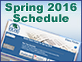 Spring 2016 Schedule of Classes