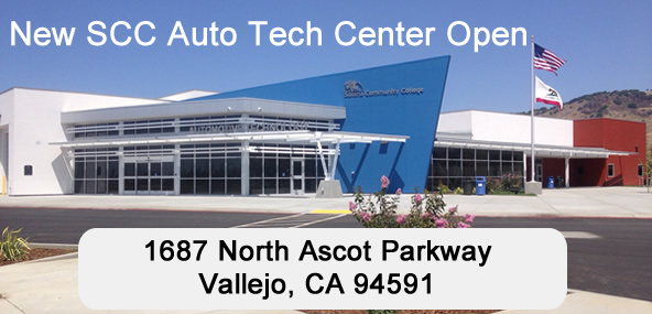 New SCC Auto Tech Center, 1687 North Ascot Parkway, Vallejo, CA 94591