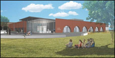 New Science Bldg Rendering